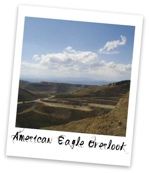 American Eagle Overlook map