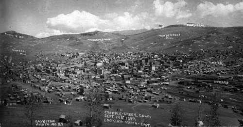 Image result for cripple creek colorado 1890s