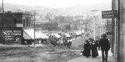 1890s Cripple Creek - the Sisters of Bennett Ave.